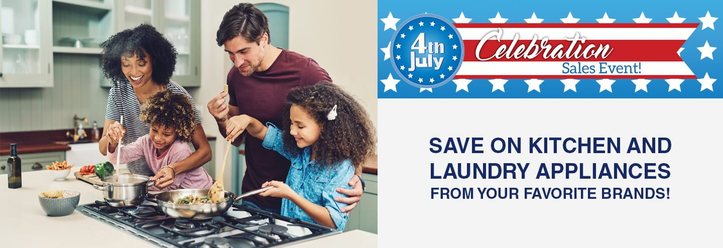 4th of July Appliance Savings